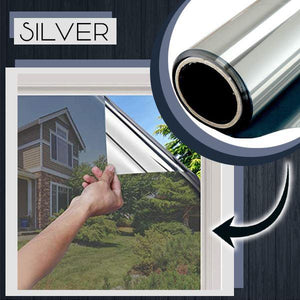 Heat Insulation Privacy Film 88mallonline 60x100 Silver