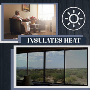 Heat Insulation Privacy Film 88mallonline