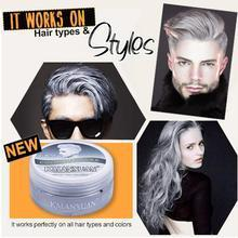 Load image into Gallery viewer, Silver Grey Hair Color Wax