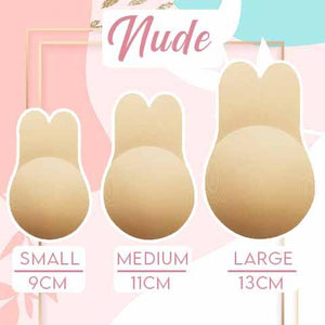 Lift Up Invisible Bra Tape Health & Beauty outdoorpinata Nude Small