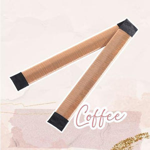 MagicTie Perfect Bun Maker (2PCS) Health & Beauty outdoorpinata Coffee