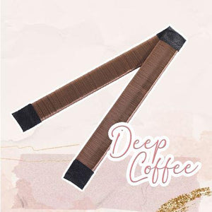 MagicTie Perfect Bun Maker (2PCS) Health & Beauty outdoorpinata Deep Coffee