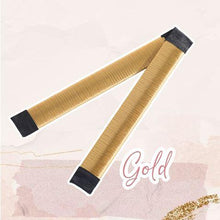Load image into Gallery viewer, MagicTie Perfect Bun Maker (2PCS) Health & Beauty outdoorpinata Gold