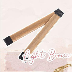 MagicTie Perfect Bun Maker (2PCS) Health & Beauty outdoorpinata Light Brown