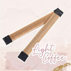 MagicTie Perfect Bun Maker (2PCS) Health & Beauty outdoorpinata Light Coffee