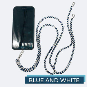 Universal Phone Lanyard outdoorudolph Blue and White
