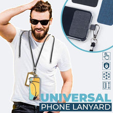Load image into Gallery viewer, Universal Phone Lanyard outdoorudolph Yellow and Red