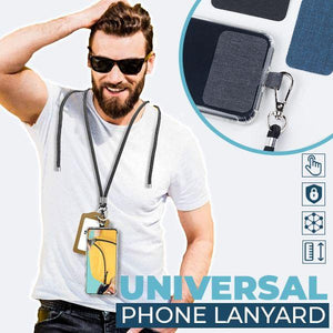 Universal Phone Lanyard outdoorudolph Yellow and Red