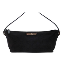 Load image into Gallery viewer, Gucci Monogram Boat Bag in Black