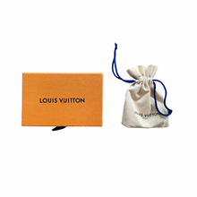 Load image into Gallery viewer, Louis Vuitton Nanogram Hoop Earrings