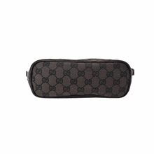 Load image into Gallery viewer, Gucci Monogram Boat Bag in Chocolate Brown