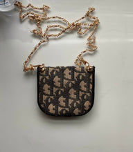 Load image into Gallery viewer, Dior Monogram Mini Trotter Side Pouch