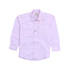 Boys Casual Line Shirt - Light Pink