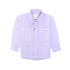 Boys Casual Shirt - Purple