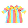 Girls Striped Kurti - Multi