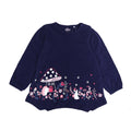 Girls Graphic Tees - Dark Blue