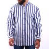 Men's Striped Shirt - White