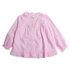Girls Printed Frock - Pink