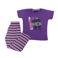 Girls Night Suit - Purple