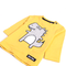 Boys Graphic Tees - Yellow