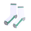Women Long Socks - Green Striped