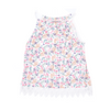 Girls Floral Sando - Multi