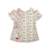 Girls Floral Fusion Top - Pink