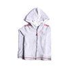 Girls Hooded Zipper - Grey