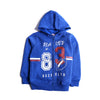 Boys Hooded Zipper - Blue