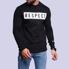 Men'S Printed Sweatshirt - Black