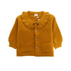 Girls Wool Sweater - Brown