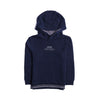 Boys Hooded Shirt - Dark Blue
