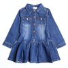 Girls Denim Frock - Blue