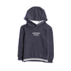 Boys Hooded Shirt - Dark Grey