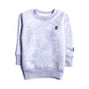 Boys Plain Sweatshirt - Grey