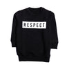 Boys Printed Sweatshirt - Black