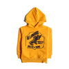 Boys Graphic Hooded Shirt - Yellow