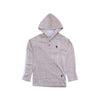 Boys Hooded T-Shirt - Brown