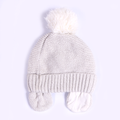 Unisex New Born Kids Winter Cap - Grey