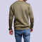 Men'S Plain Sweatshirt - Dark Green