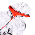 Boys Graphic Hooded Zipper - Grey