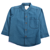 Boys Plain Casual Shirt - Teal