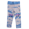 Girls Embroidered Jegging - Grey