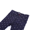 Girls Polka Dots Pant - Navy Blue