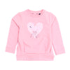 Girls Sweatshirt - Pink