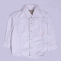 Boys Stripe Casual Shirt - White