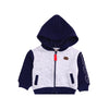 Boys Hoodie Zipper - Grey & Blue