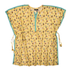 Girls Printed Fusion Top - Yellow