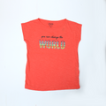 Girls Graphic Tees - Red