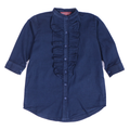 Girls Denim Kurti - Blue